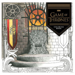 Colouring Book Game of Thrones