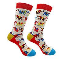 Crew Socks Painted Elephant Namaste