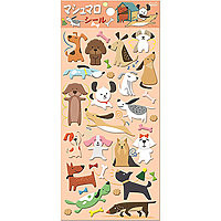 Puffy Stickers Dogs