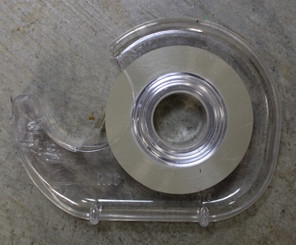 """Tape Large Roll with Holder (3/4"""" wide 25.4m)"""