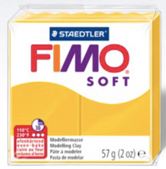 Staedtler Fimo Oven Bake Clay 2oz Translucent White