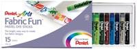 Pentel Fabric Dye Sticks 15pk