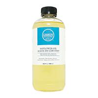 Gamblin Safflower Oil 16.8oz for solvent-free oil painting