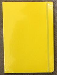 "Fabriano 6x8.5"" Dot Grid Journal w/elastic 80pg Yellow"