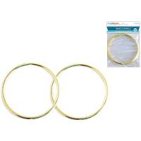 "Brass Rings 2pk (1/8"" thick) 4"" diametre"