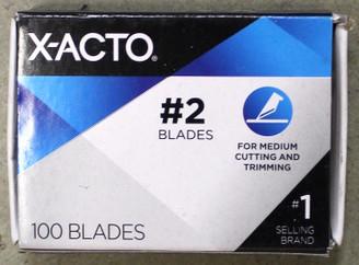 Xacto Blades #2 100pk