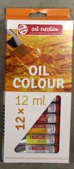 Royal Paint Set 12 colours Oil