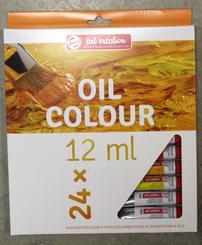 Talens Oil Paint Set  24 colours