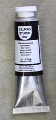 Lukas Studio Oil 37ml Ivory Black