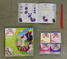CLEARANCE!  Fimo Clay Pets Set Oven-Bake  **faded package