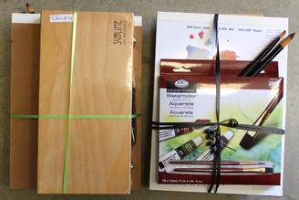 Sublime $70 Watercolour Set with box