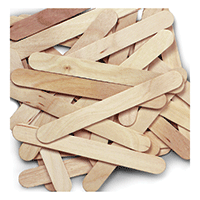 Creativity Street Craft Sticks Jumbo 100pk Natural