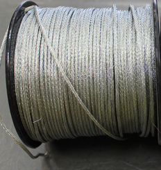 Picture Wire Braided Un-Coated by the foot #8  50lb  PER FOOT