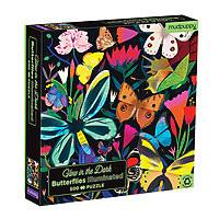 Puzzle 500 pieces Glow in the Dark Butterflies