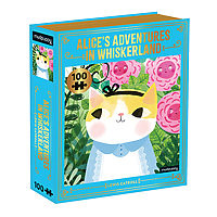 Puzzle 100 pieces Alice in Whiskersland