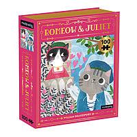 Puzzle 100 pieces Romeow & Juliet