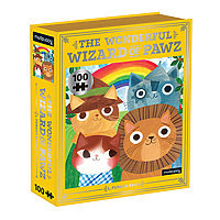 Puzzle 100 pieces The Wonderful Wizard of Paws