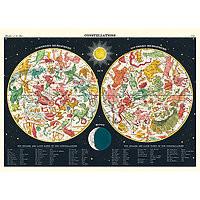 "Cavallini Decorative Paper 20x28"" sheet Constellations 2"