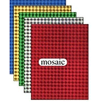 Holographic Sticker Sheets 5pk Mosaic assorted colours