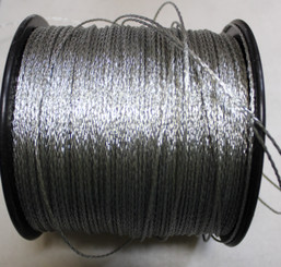 Picture Wire Braided Un-Coated by the foot #2 15lb  PER FOOT