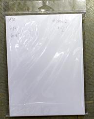 """SALE! Mini Board Pieces 5pk 7x7"""""""