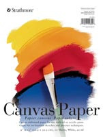 Strathmore Canvas Paper Pad 10 sheets 9x12