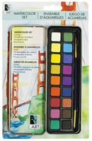 AA Watercolour Tin Set with Brush