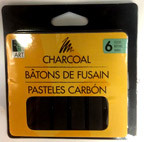 Charcoal Sticks 6pk AA