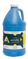 AA Acrylic Paint 64oz Jug Assorted Colours