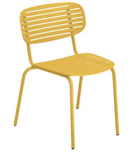 Mom Side Chair - Yellow Finish