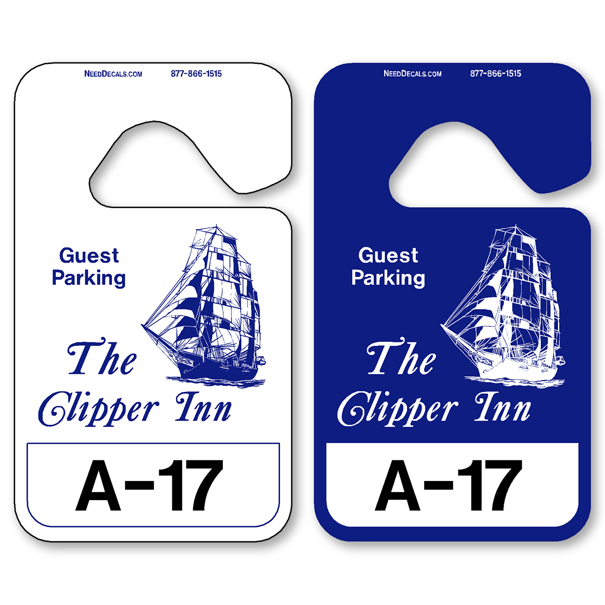 hanging parking pass template.html