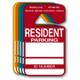 Resident Parking Permit Hang Tags