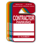 Contractor Parking Hang Tags