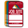 Jobsite Parking Permit Hang Tags