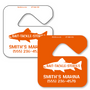 Parking permit tags  allow endless design possibilities and project a professional image. Available in over 30 Stock Ink Colors or unlimited custom colors. These durable Parking Hang Tags are printed on heavy duty .035 inch material to give you the strongest parking permit available. Order today and get Free Setup, Free Numbering and Free Logo