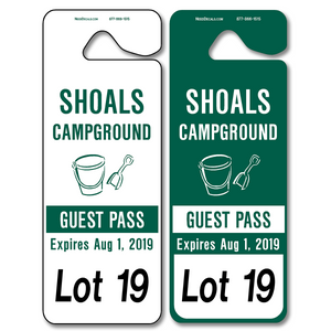 Student Pick Up Tags allow endless design possibilities and project a professional image. Available in over 30 Stock Ink Colors or unlimited custom colors. These durable Parking Hang Tags are printed on heavy duty .035 inch material to give you the strongest parking permit available. Order today and get Free Setup, Free Numbering and Free Logo.