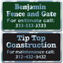 Custom Business Stickers for indoor or outdoor use allow endless design possibilities and project a professional image.
