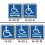 Handicap Symbol Decals