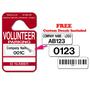 Volunteer Parking Hang Tags