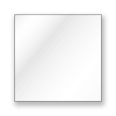 Blank Static Window Cling - Blank Static Cling