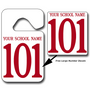 Student Pick Up Hang Tags with Free Large Number Decals