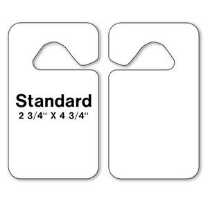 Blank Parking Hang Tags