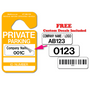 Order Stock Private Parking Permits today and get Free Custom Decals to make your tags unique.