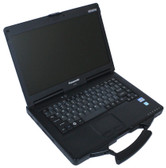 Panasonic Toughbook CF-53 Intel Core i5-3320M 2.6GHz 8GB RAM 500GB DVDRW 9-Pin Serial Port Windows 7 Pro (WWAN 4G LTE Verizon)