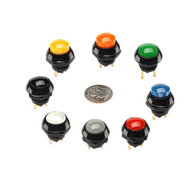 Pushbutton Switch 50mA Low Level (P9L Series)