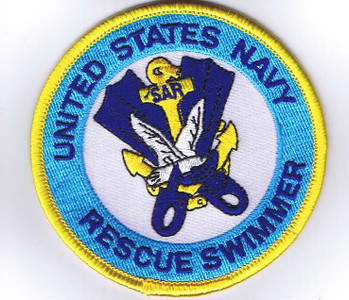 USN Rescue Swimmer Patch 3""