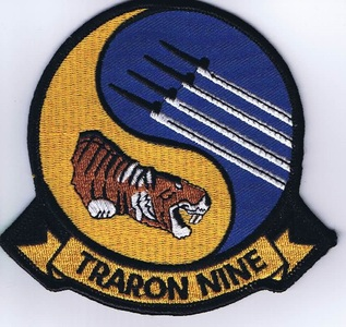 VT-9 Tigers Patch