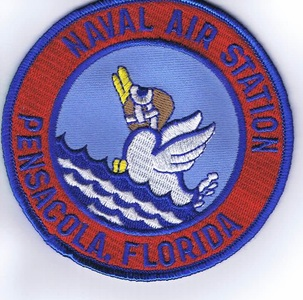 "NAS Pensacola patch (4"")"