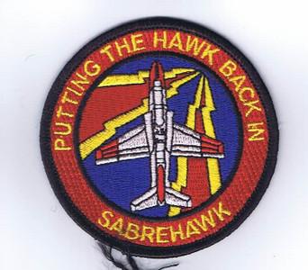 VT-86 Sabrehawks shoulder patch
