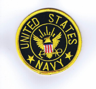 USN Enlisted shoulder patch